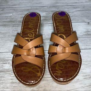 Sam Edelman Brown Sandals Size 8.5 NWOT